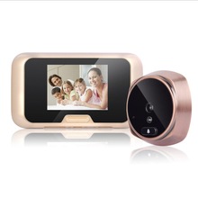 HD Visual Electronic Cat Eye Doorbell Home Mobile Detection Monitoring Security Camera Video With Night Vision