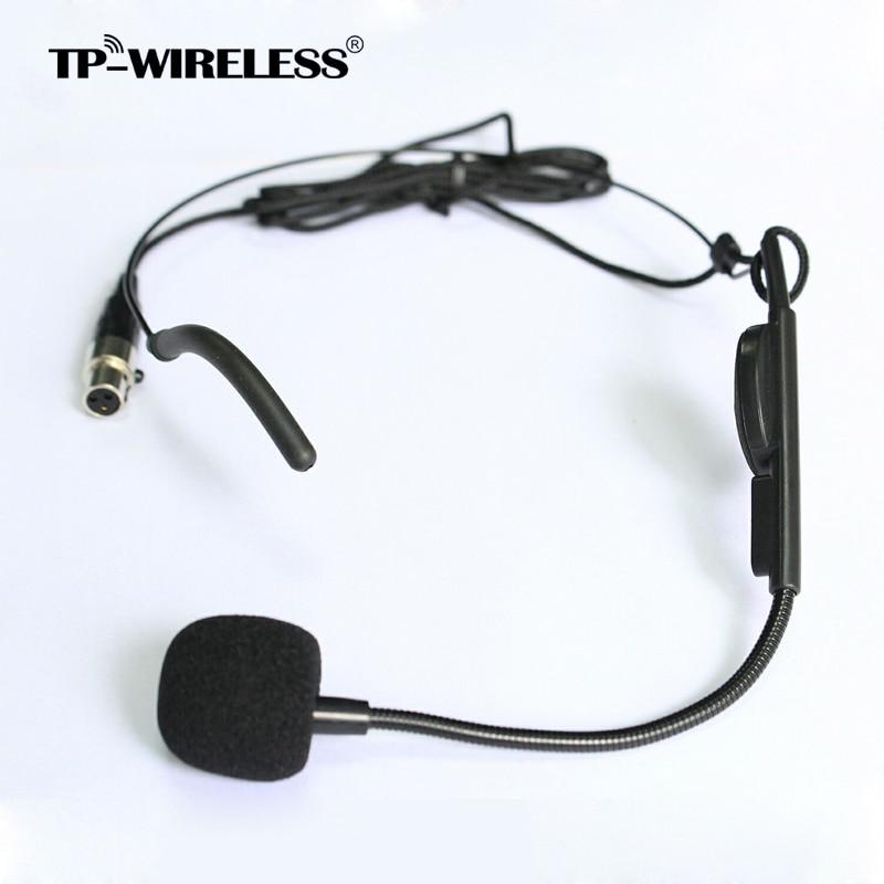 Microfono a cuffia con testa a pettine cardioide di alta qualità - Audio e video portatili