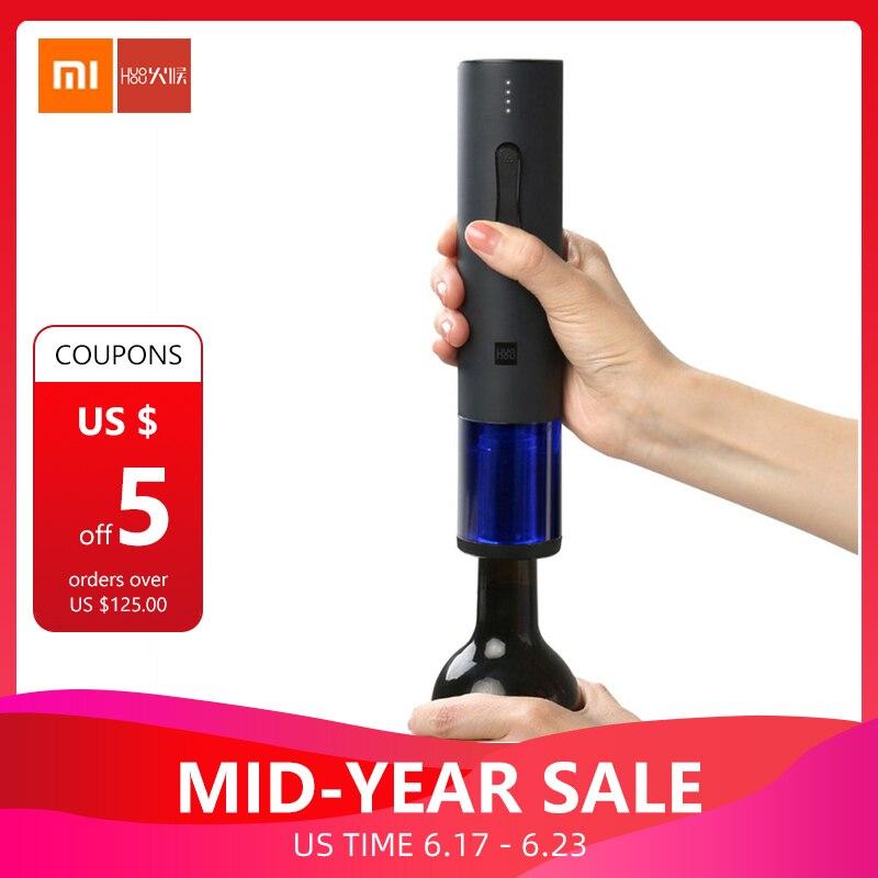 Cork Cutter: Original Xiaomi Mijia Huohou Automatic Red Wine Bottle