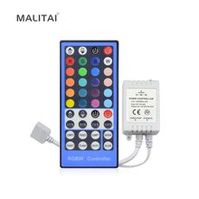 1Pcs 2.4G 4 Channels DC12V - 24V LED RGBW Controller Dimmer 40 Keys Remote Control For RGBW RGBWW 5050 SMD LED Strip light(China)