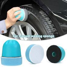 Автомобильный ручной воск губка полировка губка щетка для чистки шин туалетный аппликатор эргономичное применение шин повязки