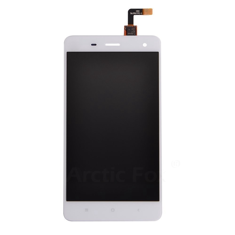 ФОТО 100% No Dead Pixel For XIAOMI MI4 m4 LCD Display with Touch Screen Digitizer Assembly for Xiaomi mi4 White