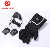 Savior SHGS05B heated glove liner winter keep warm outdoor sports ski biking riding hunting golf warmth quick heat women men Hot