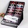 HIPSTEEN 16 unids/18 unids HolderStorage Stands Holder Soporte de Exhibición Eyewear gafas de Sol Gafas de Lectura Caja de la Caja-Negro + blanco