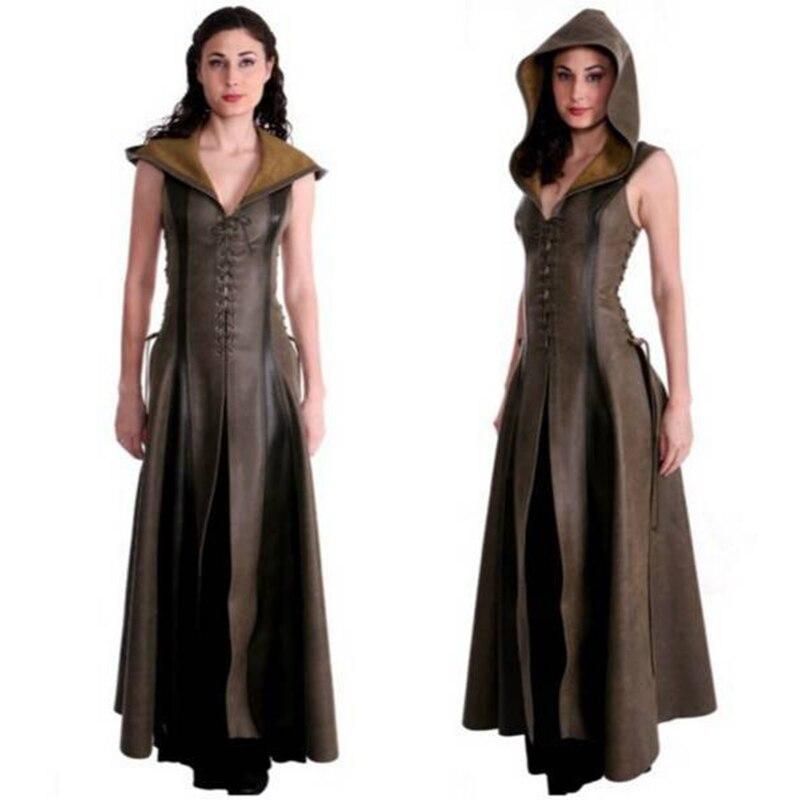 923fcd286405d 🛒[3hkzw] 2018 Fashion Bandage Long Renaissance Gothic Dress Women ...