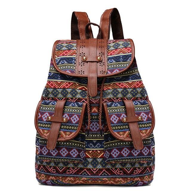 Ladies 2018 Rainbow Purse Pouch fashion Canvas Bag Women love pink Patchwork Casual Women Shoulder Bags Female Messenger bag