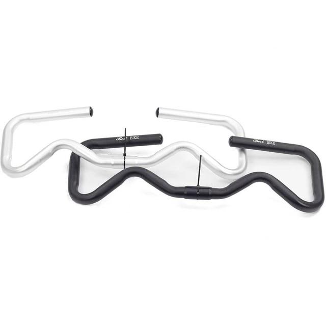 Mini Type P handlebar for brompton 3Sixty Folding Bike S M P Type stem P headle bar 450g
