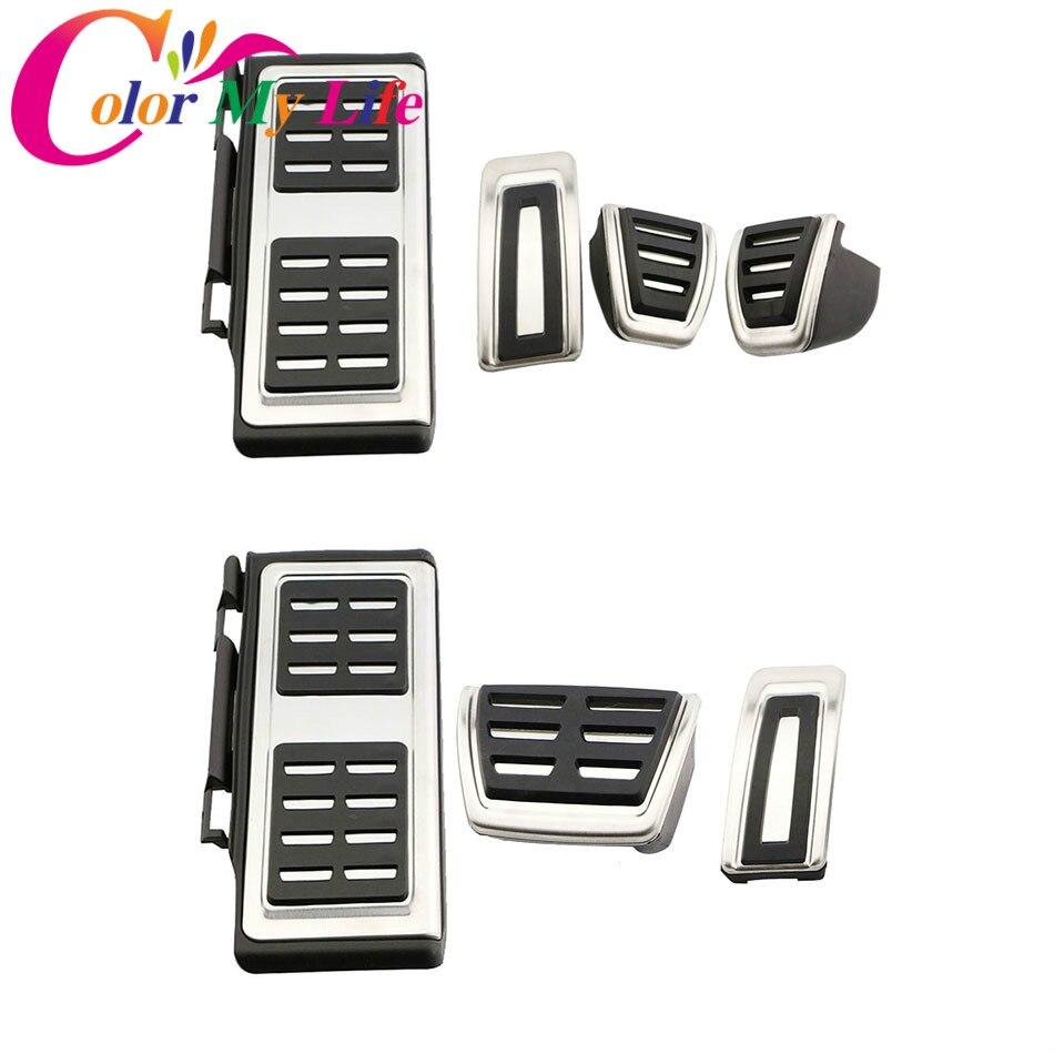 Coche Pedal de pedales para VW GOLF 7 GTi MK7 Lamando para Audi A3 S3 8 V RS3 Cabrio apto para Skoda Octavia 5E A7 rápido Seat Leon