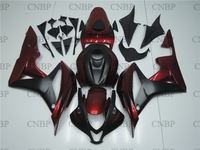 Plastic Fairings for Honda CBR600RR 08 Abs Fairing CBR600 RR 08 2007 2008 Black Red Motorcycle Fairing CBR 600 RR 07