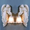 Настенный светильник TUDA  Европейский  из смолы  для гостиной  110-220 В