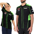 Free Shipping Men's/Child MOTOGP Racing Team T-shirt Kawasaki T-Shirt Summer Motorcycle t shirt Casual Sports Jersey Size M-XXL