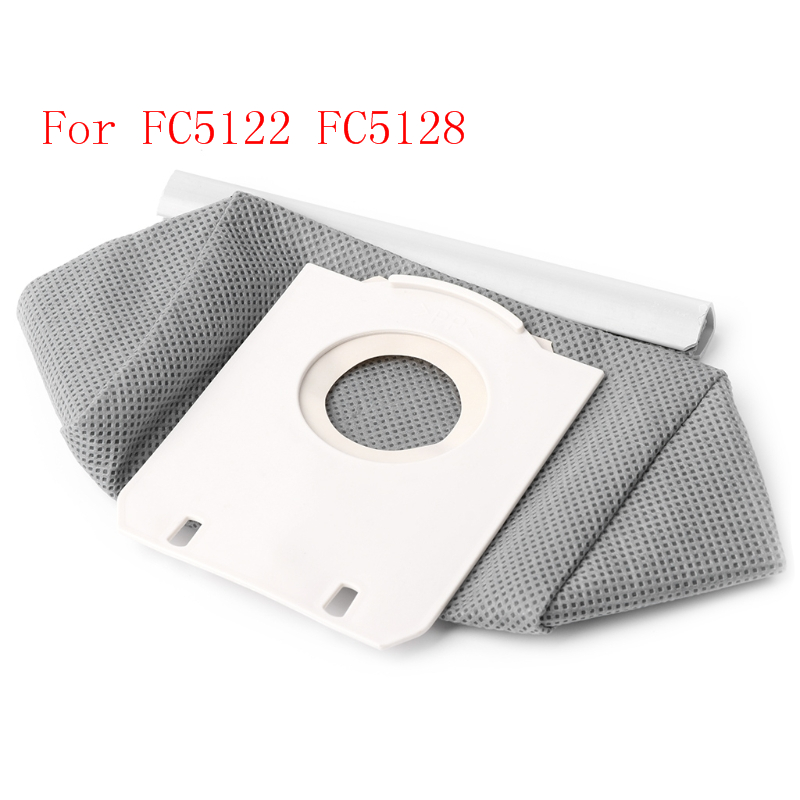 Non Woven Cloth Vacuum Cleaner Bag Reusable Dust Bags Replace For FC5122 FC5128
