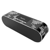 Bluedio AS BT (Air) Sleek Stereo Wireless Bluetooth V4.1 Speakers(Black)