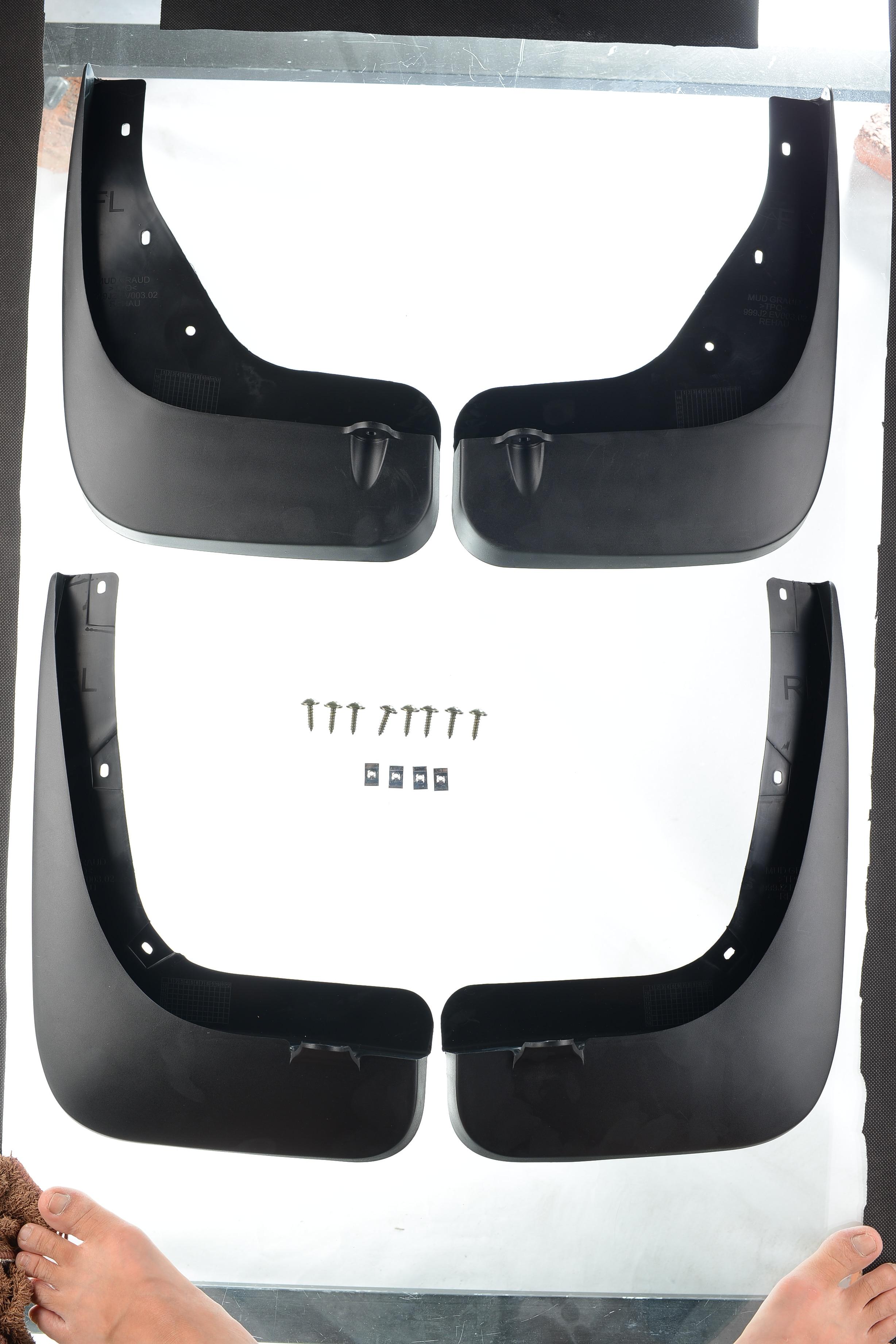 New OEM Infiniti FX35 FX37 FX50 Front /& Rear Splash Guards 2009-2013