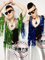2015 New style Fashion costumes vest Male ds beyonc Tassel Mix match vest costume stage performance vest