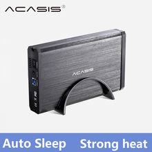 ACASIS USB 3.0 SATA Interface 3.5 inch Hard Drive Box HDD Enclosure Mobile hard disk Box Support 6TB Fully compatible 2.5inch