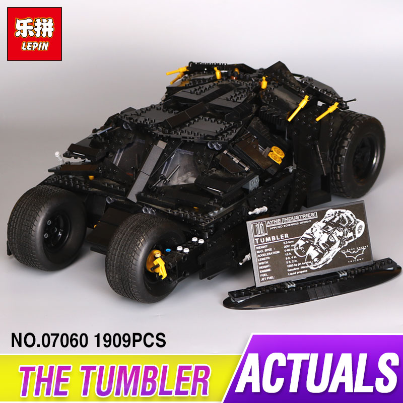 LEPIN 07060 Genuine Super Hero Movie Series The Batman Armored Chariot Set 76023 Educational Building Block Brick Boy Toys 7111 цена и фото
