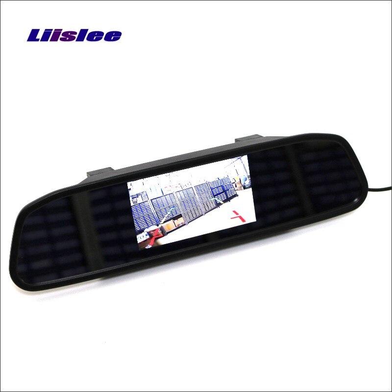 Liislee pour TOYOTA RAV4 RAV 4 rétroviseur voiture moniteur écran d'affichage/4.3 pouces/HD TFT LCD NTSC PAL couleur TV système