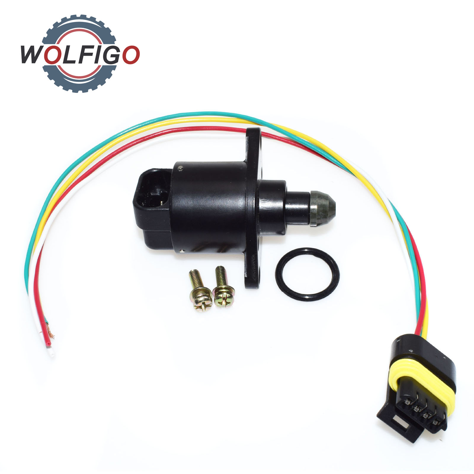 Wolfigo Idle Air Control Valve With Pigtail Harness Connector For Citroen Xantia Zx Peugeot 106