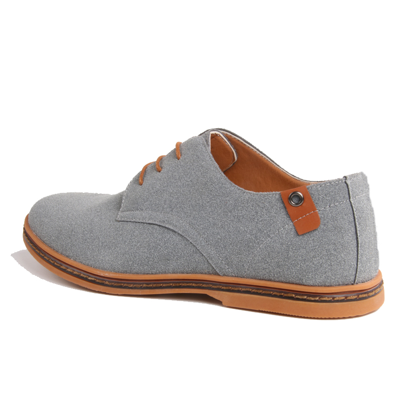 Homens sapatos oxford couro genuíno sapatos casuais