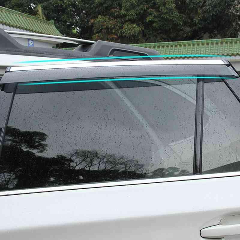 ABAIWAI Auto Car Window Protector Visor Sun Rain Shade Awnings For Subaru Outback 2015 2016 2017