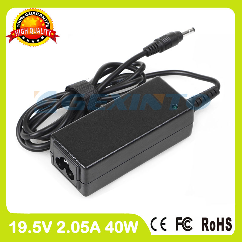 19.5V 2.05A 40W ac adapter HSTNN-LA18 laptop charger for HP Mini 2102 2103 2104 210 HD Edition 210-1000 210-1100 210T-1000