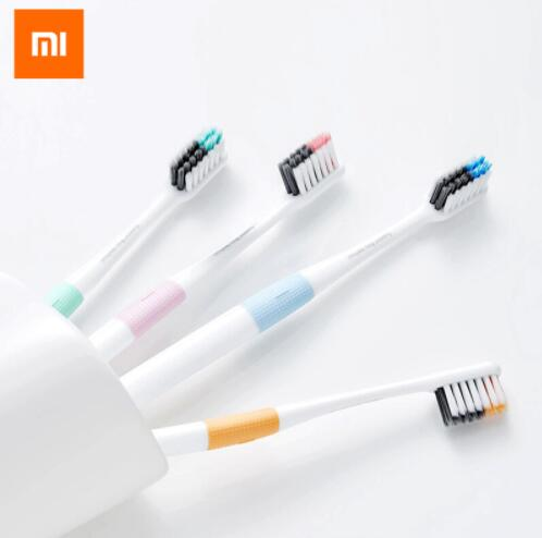 Xiaomi Doctor B Tooth Mi Brush Deep Clean Bass Method Sandwish-bedded Brush With Travel Box Soft Tooth Mijia Brush