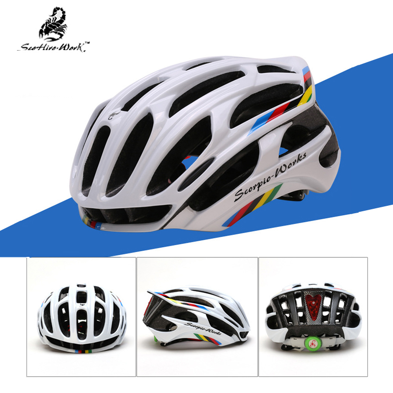 Bicycle Helmet Mountain-Bike Ultralight Road Racing LED EPS For Mtb Eps-Spare-Part