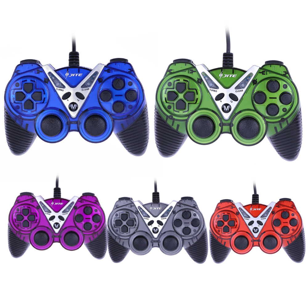 For Windows PC Wired font b Controller b font Vibration Joypad Game font b Controller b