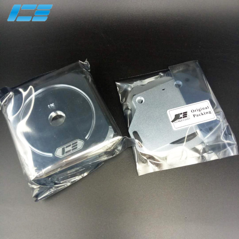 High Quality Pure copper plating Dual computer D5 Water Pump Cover Series EVO IceMan Cooler compatible