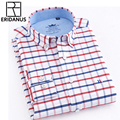 Candy Color Men's Shirt Oxford Classic Cotton Long Sleeve Business Dress Shirts Formal Social Brand Clothing Chemise Homme X154 12