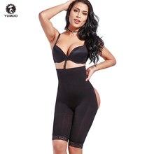 YUMDO Sexy Kolben-heber Frauen Abnehmen Shapewear Bauch Steuer Höschen Hohe Taille Trainer Körper Shaper Boyshort Engen Power Kurze
