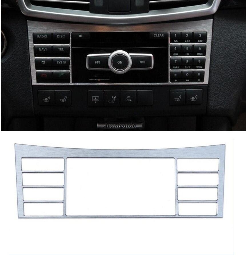 Keskmise konsooli reguleerimisnupu raamikate 3-osaline Mercedes Benz - Auto salongi tarvikud - Foto 6