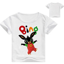 Bing Bung Clothing Rabbit Cartoon T-shirts Summer New Children T Shirt for Children Tops Tees Boys Shirt Kids Clothes T-shirt