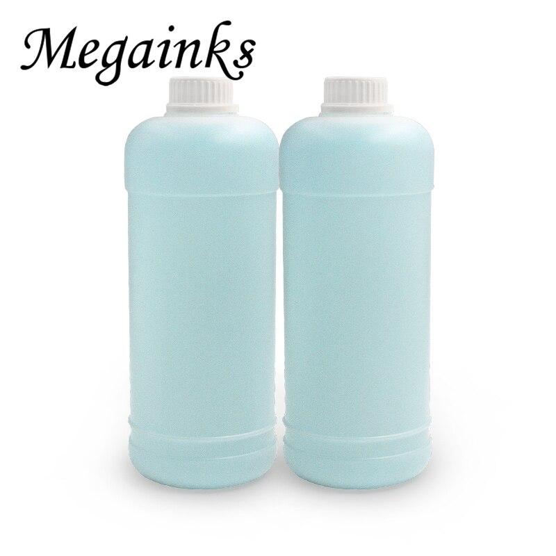 Líquido de solución de limpieza de tinta de sublimación de 1000 ml para Canon para Ricoh Mimaki Roland Mutoh pigmento tinte tinta limpiador fluido 500 ml