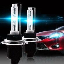 H7 выделяет новый автомобиль фары ксеноновые спрятал лампы для фары автомобиля фары лампы 1 пара ксенона лампы