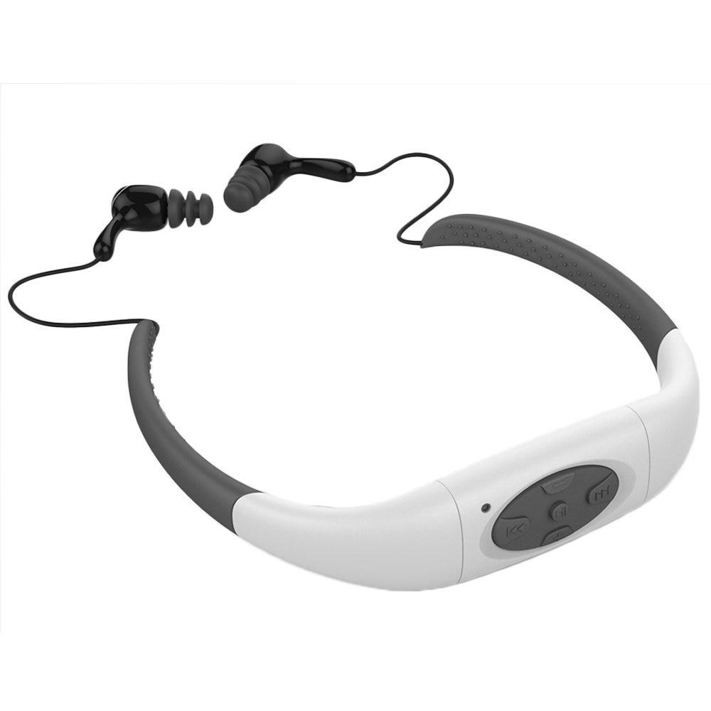 100% IPX8 Waterproof 4GB MP3 Player Headset Underwater ...