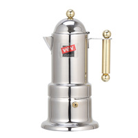 Thick Italian 4 Coffee Machine Concentrated Coffee Pot Household Extraction Stainless Steel Mocha Coffee Pot