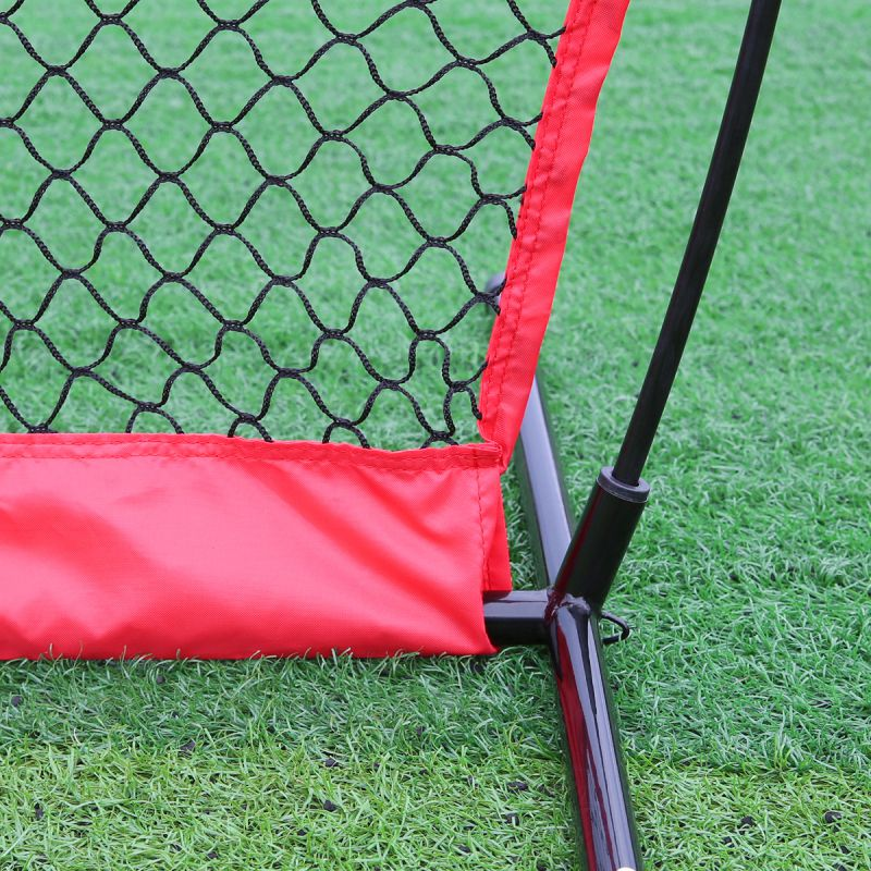 Balight Portable Baseball Softball Practice Net Softball Training Net Durable Bow Frame Compact Carrying Bag Outdoor цена