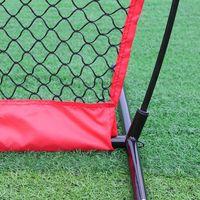 Balight Portable Baseball Softball Practice Net Softball Training Net Durable Bow Frame Compact Carrying Bag Outdoor