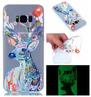 Luminous Soft Silicone Cover Phone Cases Coque For Samsung Galaxy S8 / S8 Plus S8+ Back Cover Capa Glow in The Dark Fundas