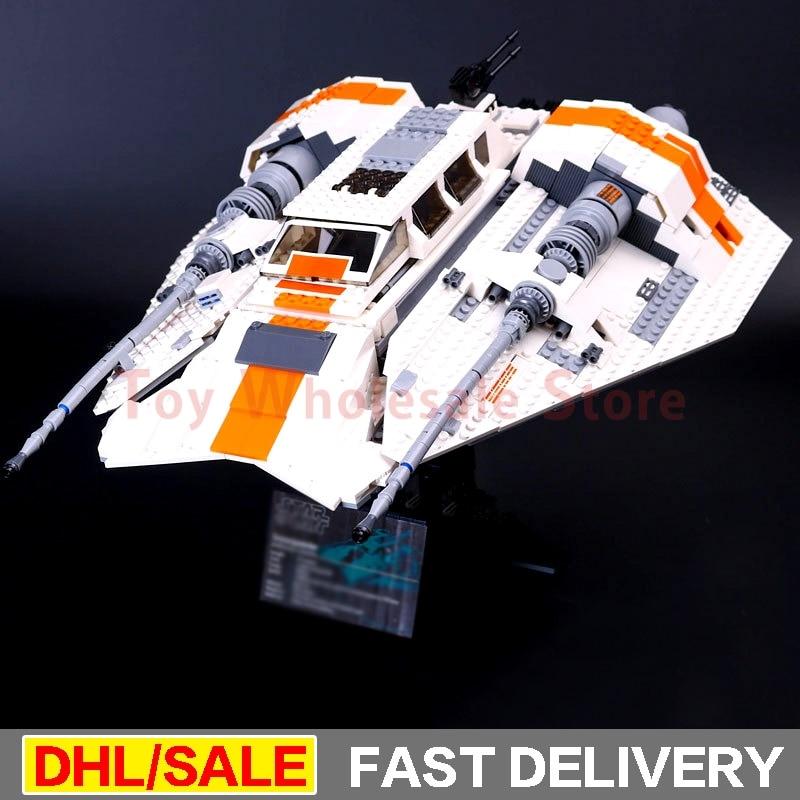 Lepin 05084 1457Pcs 2017 Star battle UCS Rebel Snowspeeder Model Building Kits Blocks Bricks Toys For Children Clone 10129