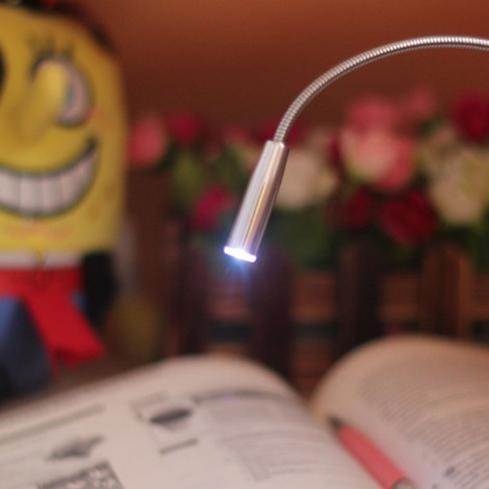 Portable USB LED Flexible Light Keyboard Lights For Notebook Laptop PC Desktop Computer Book Reading Adjustable Lamp