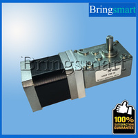 Bringsmart A58SW-42BY 12 V DC Silnik Krokowy Wysoki Moment Obrotowy Synchronizable samoblokujący Redukcji Motoreduktora Silnika
