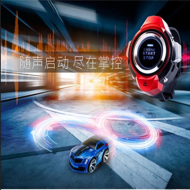 2017 novo relógio Inteligente de voz controle remoto contro carro lrc carro de brinquedo de controle de voz de alta velocidade carro de drift carro-styling livre navio