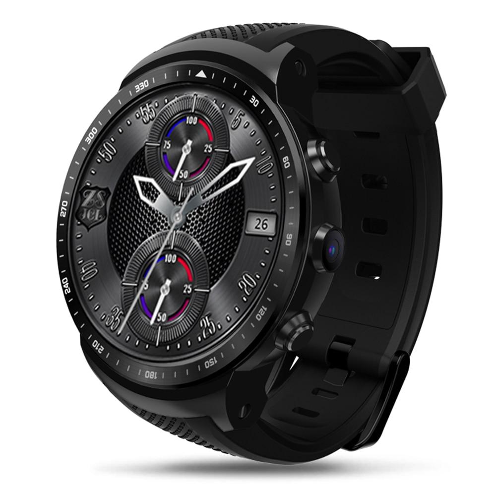 Zeblaze Thor PRO Smartwatch SIM 3g GPS Piste WIFI Android 5.1 Quad Core 1 gb 16 gb 2.0 MP caméra Moniteur de Fréquence Cardiaque Montre Smart Watch