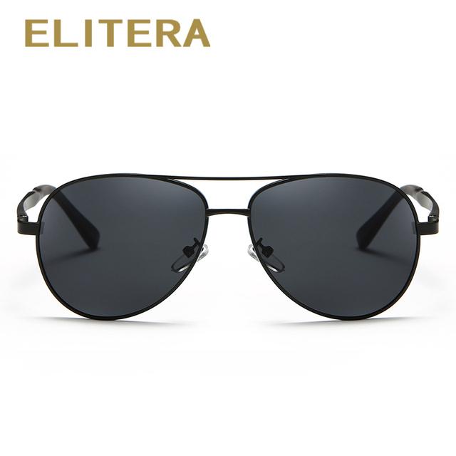 ELITERA Brand Design Sunglasses Men Polarized UV400 Eyes Protect Sports Coating Sun Glasses Google Pilot 1306 Wholesale