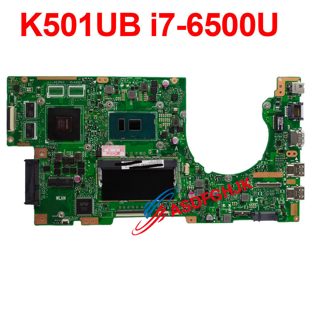 for <font><b>ASUS</b></font> K501U <font><b>K501UX</b></font> K501UB Mainboard i7-6500U 8GB GTX940M motherboard 100% TESED OK image