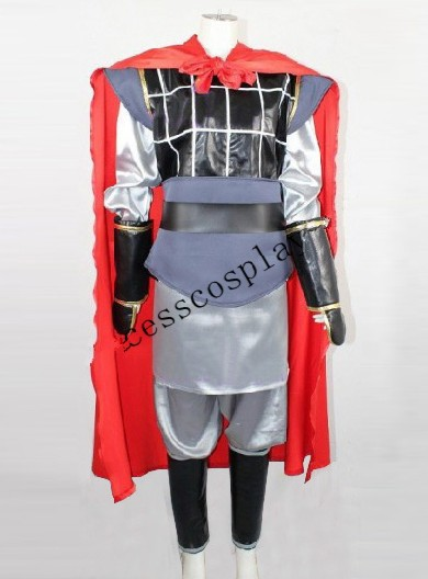 Mulan Li Shang Kostym, Li Shang Cosplay Outfit