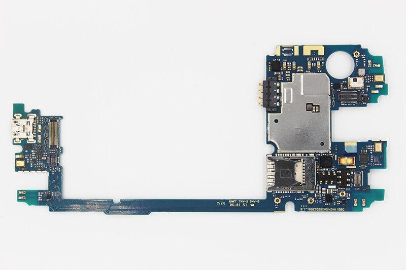 Oudini desbloqueado 32 GB trabajo para LG G3 D855 Mainboard, original para LG G3 D855 32 GB prueba de la placa madre 100% y envío gratis